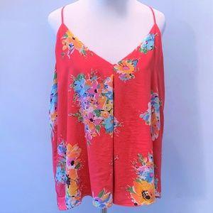 Floral Silk Tank by Polo Ralph Lauren ~ XL